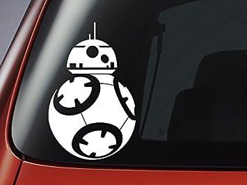 Star Wars Inspired BB BB Decal Sticker Car Window Sticker - Car window stickers amazon uk