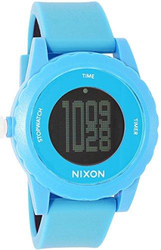 NIXON Men's A326-917 Plastic Analog Black Dial Watch (Genie Watches Nixon)