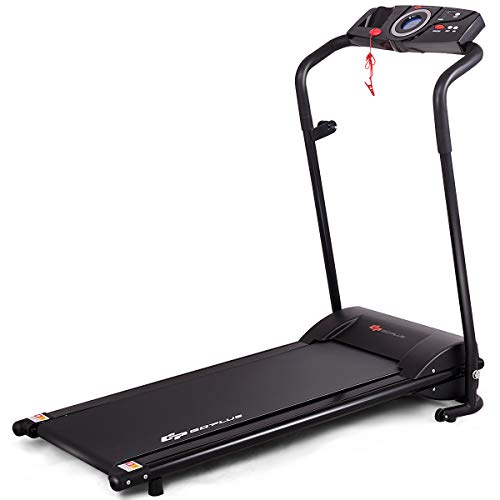 Goplus Compact Folding Treadmill for Home