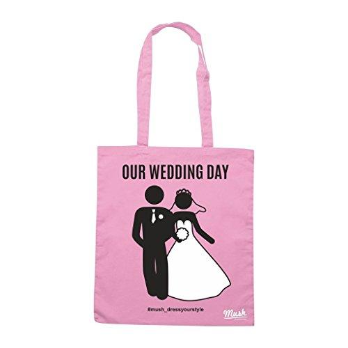 Borsa Wedding Matrimonio Sposi 15 - Rosa - Mush by Mush Dress Your Style