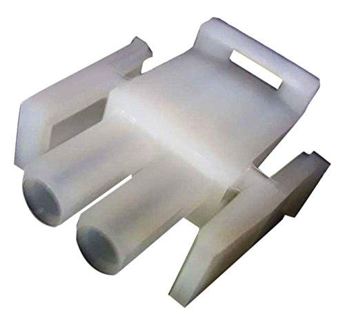 TE CONNECTIVITY 1-480698-0 Universal MATE-N-LOK 2 Position Positive Lock Male Free Hanging Plug Housing - 250 item(s)