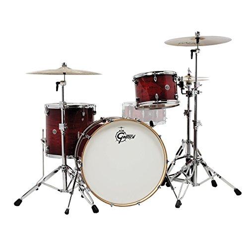 - Gretsch Drums Catalina Club Rock 3 Piece Shell Pack - Gloss Crimson Burst