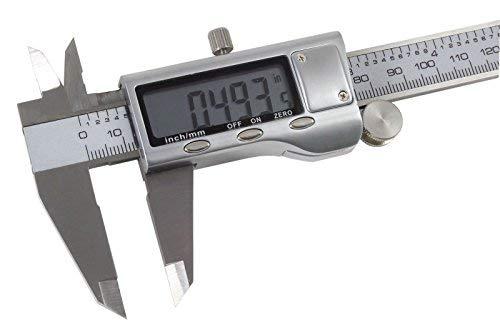bangdan Digital Caliper All metal construction - guitar repair measuring tool, 6''