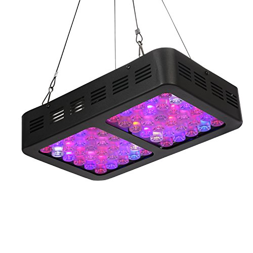 Exulight LED Grow Light, 300W Indoor Plant Light Full Spectrum with UV&IR for Greenhouse Hydroponic Indoor Plants Veg and Flower by Exulight