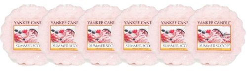Yankee Candle - 6 x Summer Scoop Wax Potpourri Tarts New for 2013