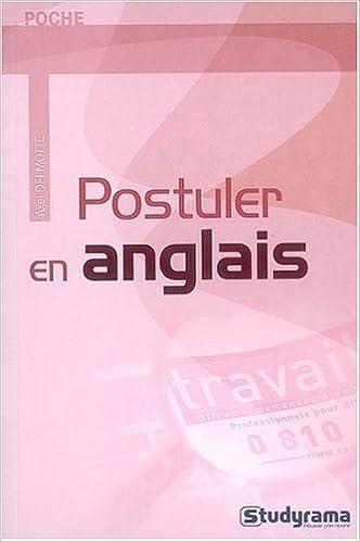 Livres gratuits Postuler en anglais pdf, epub ebook
