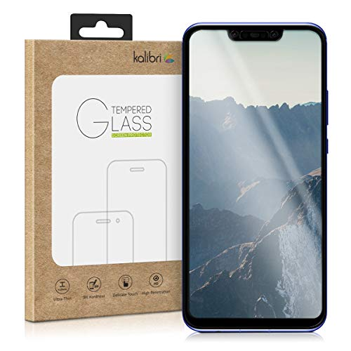 kalibri Glass Screen Protective Film for Huawei Nova 3-0,2 mm Glass with 9H  Hardness Degree Protective Film Tempered Glass Transparent