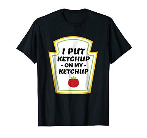 Ketchup Lovers Catsup Tomato Funny Joke Tomatoe T-shirt