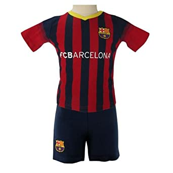 Amazon.com: Oficial FC BARCELONA Camisa y Short Set, 3-6 ...