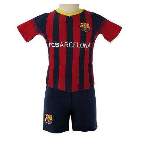 Amazon.com: Oficial FC BARCELONA Camisa y Short Set, 3-6 ...