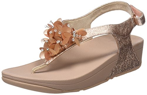 Fitflop Women's Boogaloo Strap Sling Back Sandals Pink (Rose Gold 323) new styles sale online cheapest price online shopping online cheap sale with credit card O9e3Gk8Pn