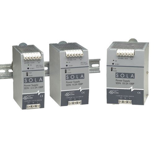 Sola/Hevi-Duty SDN16-12-100P DC Power Supply, 12 VDC, 16 Amp, 60 Hz by Sola/Hevi-Duty (Image #1)