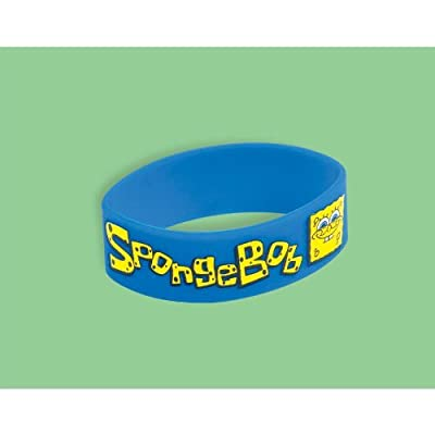 KidsPartyWorld.com Spongebob Rubber Bracelet: Toys & Games