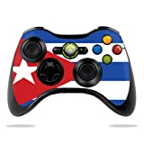 Cheap Protective Vinyl Skin Decal Cover for Microsoft Xbox 360 Controller wrap sticker skins Cuban Flag