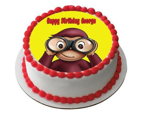 Curious-George-2-Edible-Birthday-Cake-and-Cupcake-Topper-6-round-inches