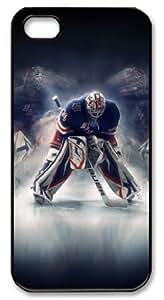icasepersonalized Personalized Protective Case for iPhone 5 - NHL New York Rangers #30 HENRIK LUNDQVIST wangjiang maoyi