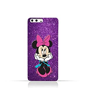Huawei P10 Plus TPU Silicone Case with Minnie Mouse Smile Design