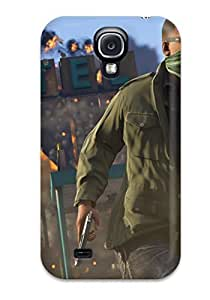 Tpu Anna Paul Carter Shockproof Scratcheproof Grand Theft Auto V Hard Case Cover For Galaxy S4
