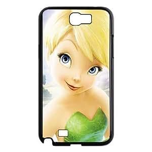 Samsung Galaxy Note 2 Black phone case Disney Cartoon Comic Series Tinker Bell OYF3148768
