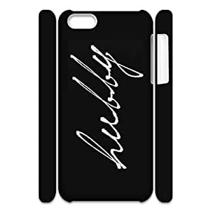 AKERCY Stylish His and Hers Hubby Wifey Matching Couple Phone 3D Case For Iphone 5C [Pattern-2]