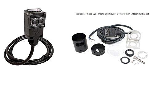 Allen Bradley MMTC 60-2728 Retro Reflective Photo Cell 30 Ft Sensing 12VDC / 24VAC/DC 3'' Reflector NEMA 3, 4, 4X,6P and 13 UL Listed Exterior Safety PhotoCell PhotoEye