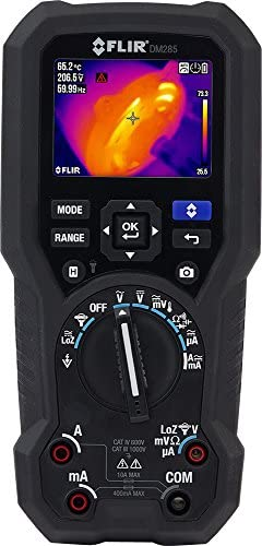 FLIR DM285-NIST Industrial Thermal Imaging Multimeter with Data logging, Wireless Connectivity, IGM and NIST