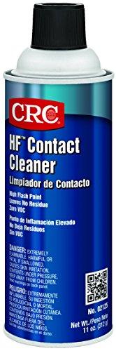 (CRC HF Liquid Contact Cleaner, 11 oz Aerosol Can, Clear)
