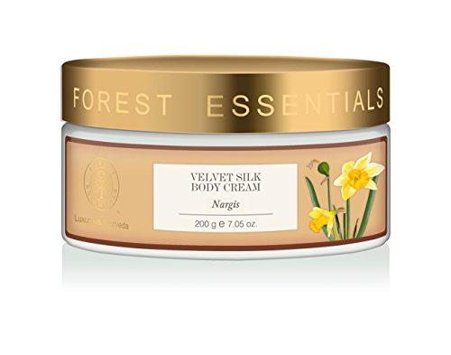 Forest Silk - Forest Essentials Nargis Velvet Silk Body Cream, 200g