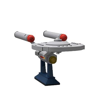 Building Boat Star Trek Series U.S.S. Enterprise NCC-1701,6021 Constitution Class, Star Wars MOC Building Set Model Block Bricks Toys(199 PCS): Toys & Games