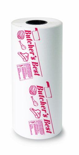 Bagcraft Papercon 135118 FL15 Paper/Poly Regular Weight Freezloc Freezer Paper Roll,''Butcher's Best'', 1000' Length x 18'' Width by Bagcraft Papercon