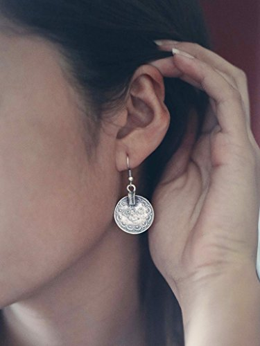 Leiothrix Fashion Coin Bohemian Earrings for Women and Girls Apply to Party and Casual