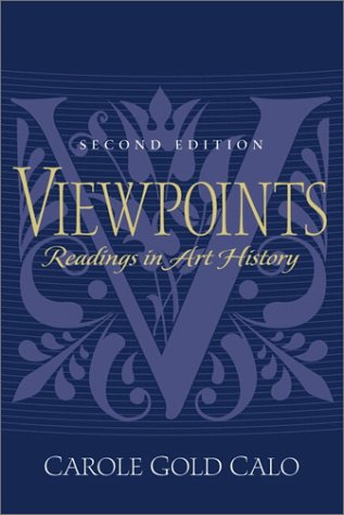 Viewpoints: Readings in Art History (2nd Edition)
