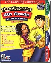 Learning Company 10246 ClueFinders 4th Grade Learning System