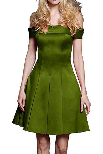 Tanzenkleider Olive Kurzes Mini Damen Marie Cocktailkleider Abendkleider La Neu Braut Gruen Satin Brautjungfernkleider zqRBgWUPW