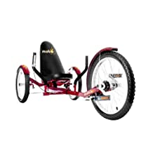 Mobo Tri-501BL Triton Pro Ultimate Three Wheeled Cruiser (20-Inch)