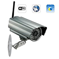 Skynet One IP Security Camera (WIFI, DVR, Night Vision) - High quality CMOS sensor & Waterproof