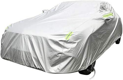 フォードEcoSport/エスケープ/Flexの防水SnowproofスクラッチプルーフアンチUV凍結防止用絶縁防塵カーシールドプラスベルベットフルカバレッジカーカバーと互換性 (Color : Silver, Model : Flex)