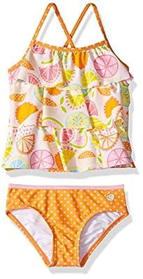 Skechers Baby Girls 2-Piece Bikini Swimsuit Bathingsuit