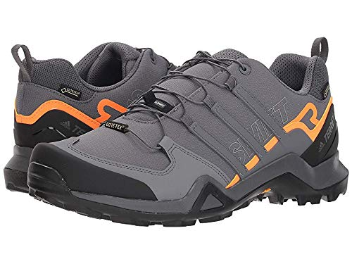 adidas outdoor Men's Terrex Swift R2 GTX¿ Grey Five/Grey Five/Hi-Res Orange 6 D US by adidas outdoor (Image #3)