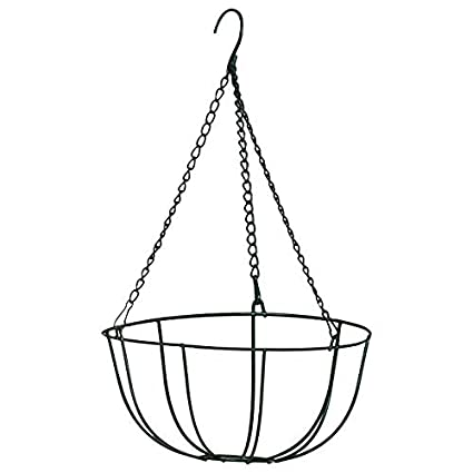 amazon garden collection the hanging wire basket hanging Square Foot Vegetable Garden Design image unavailable
