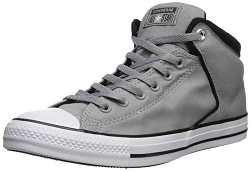Converse Men's Chuck Taylor All Star High Street Space Explorer Sneaker, Dolphin/Black/White, 10.5 M US (Converse Chuck Taylor All Star Mens Street Sneakers)