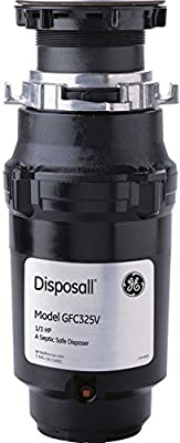 Garbage Disposals NEW GE Disposall 1/3 HP Continuous Feed Food Waste Disposer Disposal GFC325V