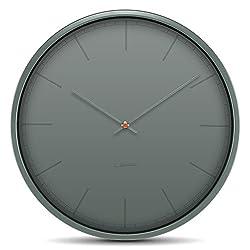 wall clock tone35 grey index