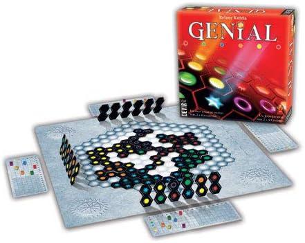 Devir Iberia 221718 Genial, Juego de Mesa (BGENI): Amazon.es: Juguetes y juegos