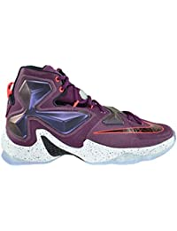 Lebron XIII Mens Basketball Shoes Mulberry/Black-Purple Platinum Vivid Purple 807219-500 · Nike