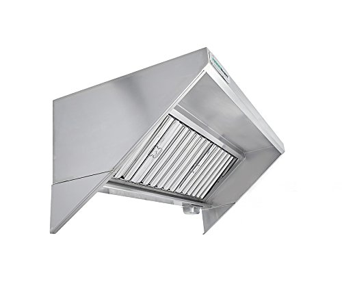 Price comparison product image HoodMart 1048SSBC Concession Trailer Hood,  10-Foot X 30-Inch