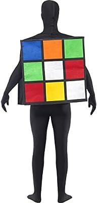 Disfraz unisex de Cubo de Rubik: Amazon.es: Juguetes y juegos