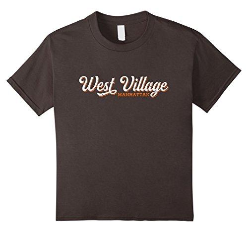 Kids WEST VILLAGE NYC TShirt | Retro New York City Tee 4 - West Kids Village