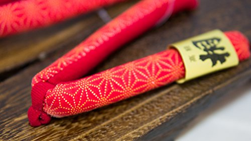 [Japan Aus] Geta Paulownia Holz Sandalen Traditionelle Schuhe Asanoha Design-Größe M