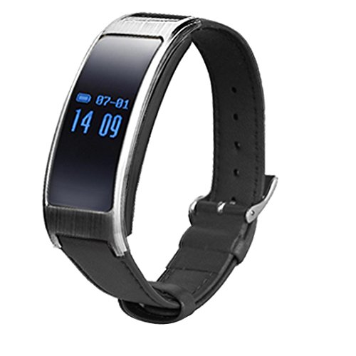 K18 Smart Watch Wristband, Oksale Bluetooth 4.0 OLED Display, Heart Rate Sleep Monitor, IP67 Waterproof, Sport Pedometer Activity Fitness Tracker for Above Android 4.4 /iOS 8.0 (Black)